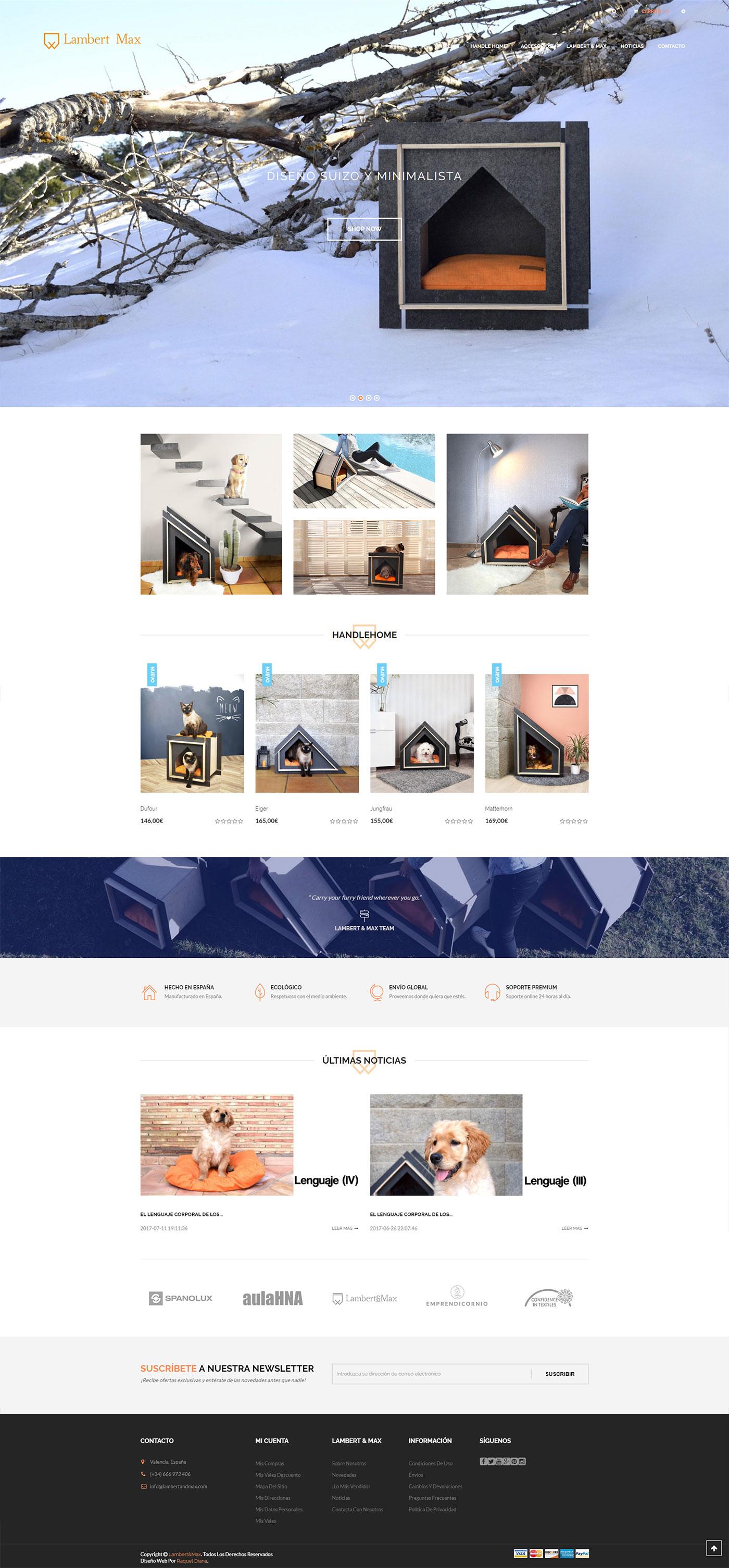 Diseño web ecommerce y posicionamiento SEO Valencia